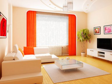 Варианты цветовых решений интерьера