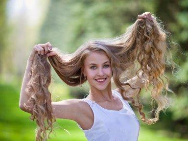 Если секутся концы волос!