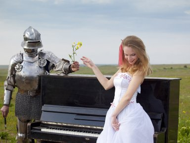 Тематическая свадьба рыцарская епоха