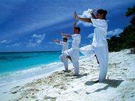 Гимнастика цигун: три кай и хе