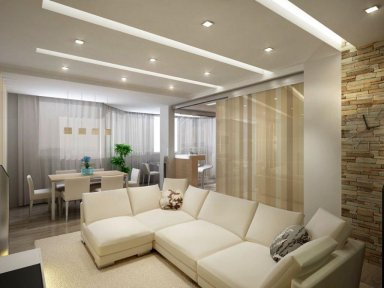 Идеальный интерьер для однокомнатной квартиры