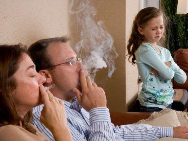 Как курить дома